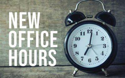 My Storage Office Hours Update